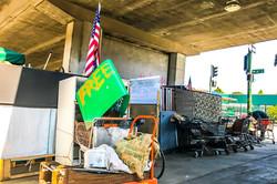 Homeless Community on 6th, Oakland, 2017, #2