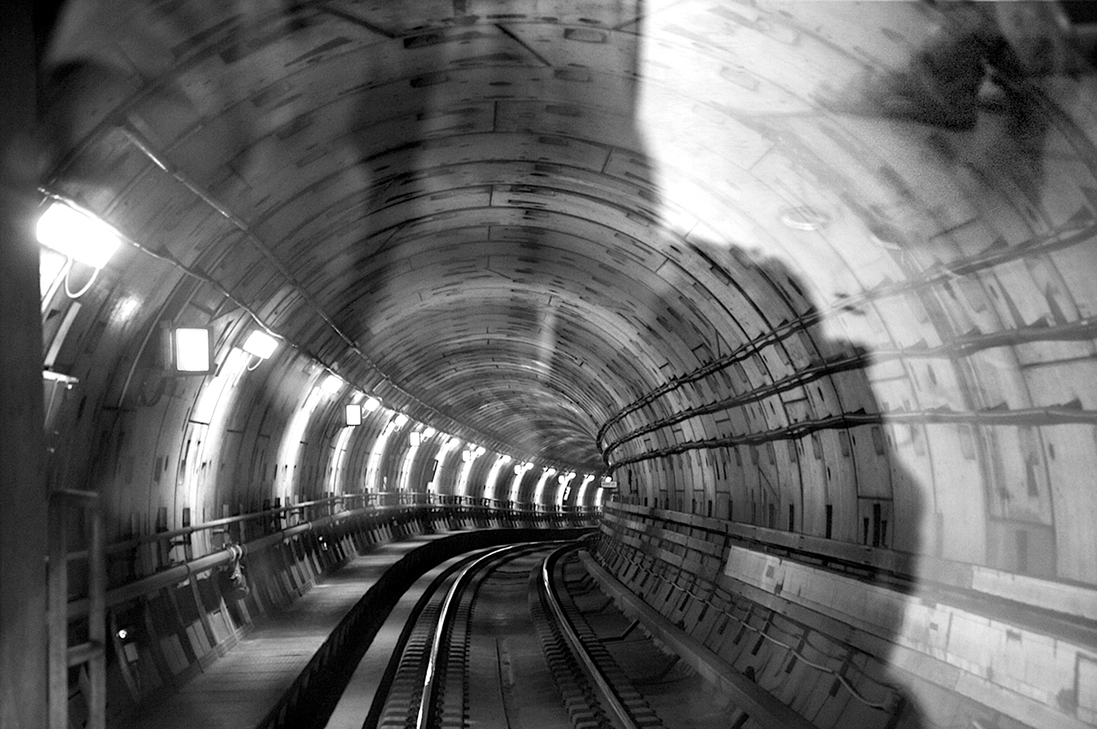Copenhagen Under Ground in Black and White #1