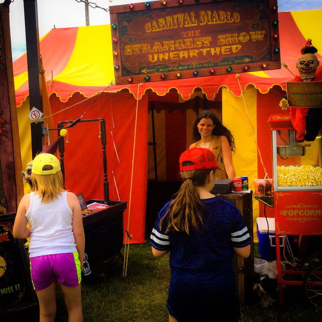 Young and Old love Carnival Diablo