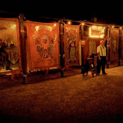 Carnival Diablo at night