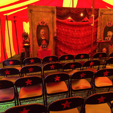 Inside of the Big Top