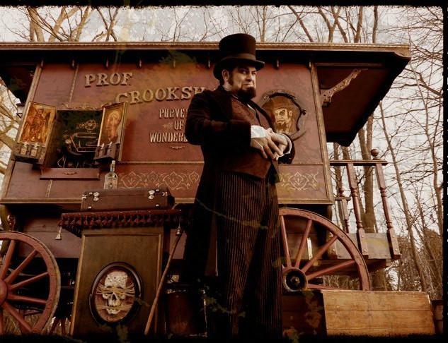 Prof. Crookshank's Traveling Medicine Show