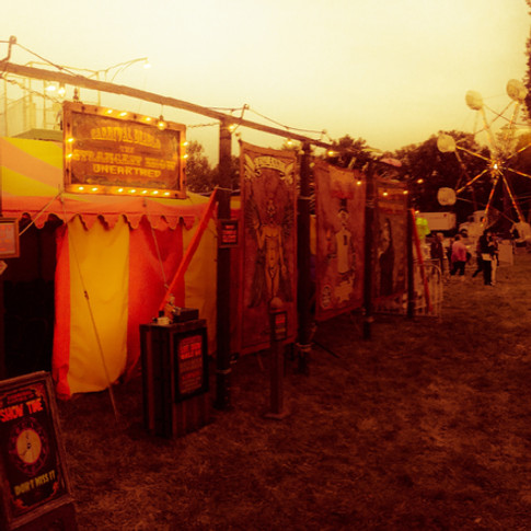 A panorama of Carnival Diablo The Strangest Show Unearthed