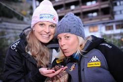 Manuela Mölgg und Denise Karbon