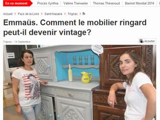 Valorisation d'objets pour l'Emmaüs de Trignac : rétrospective