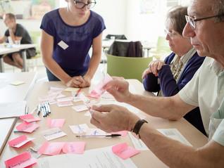 """Wokshop """"Comment faciliter l'implication des seniors dans la vie de quartier?"""" - pour Îlink associat"""