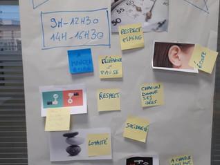 Atelier de créativité avec 6 jeunes... vivifiants !
