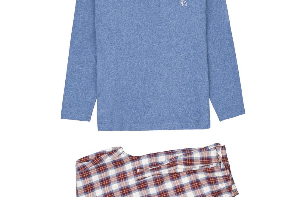 Pijama de niño Kiff Kiff largo dos piezas de algodón