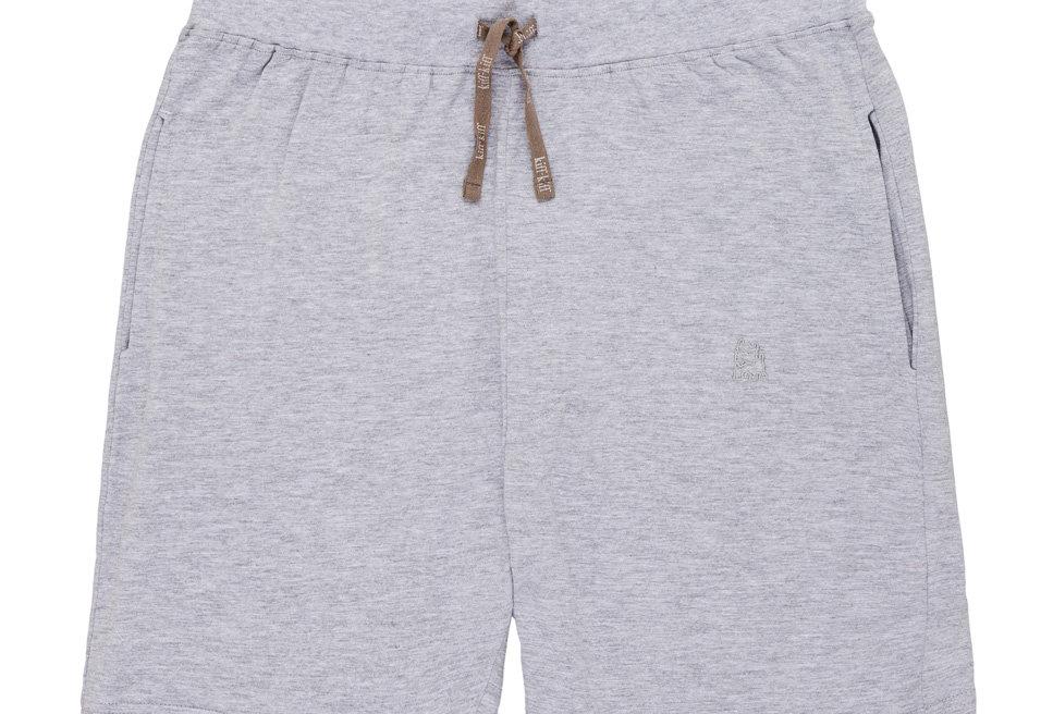 Pantalón de pijama corto de hombre Kiff Kiff de punto gris