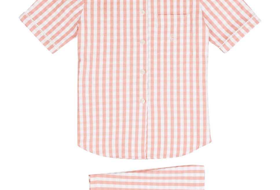 Pijama corto de mujer Kiff Kiff de tela
