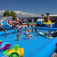 summer camp swiming pool