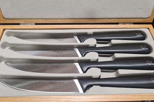 Robert Welch Signature Steak Knives-Plain Edge (4 Knives)
