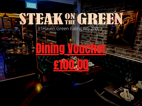 Steak on the green Gift Voucher