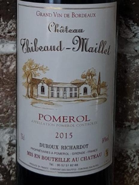 Château Thibeaud-Maillet -Pomerol 2015