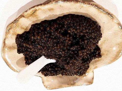 Handmade Ceramic Caviar Dish 75g-125g  serving