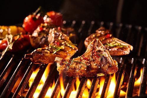 BBQ Marinated Lamb Loin Chops (6 chops)-Halal