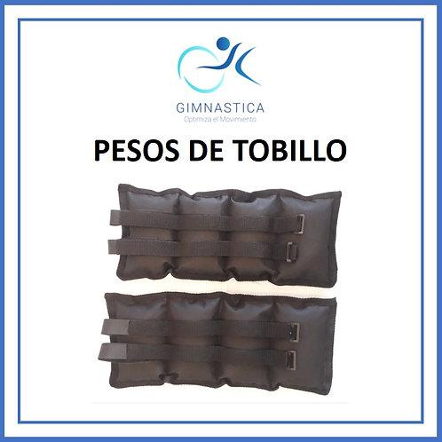 PESOS DE TOBILLO 1 KG PAR