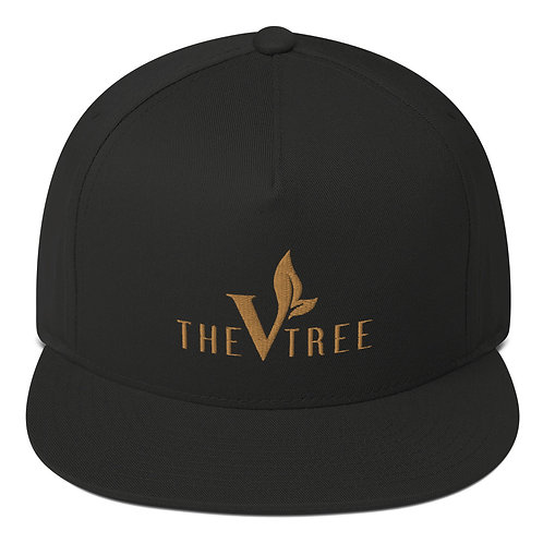 The Vtree Black and Gold Snapback
