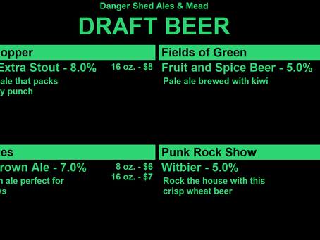 Design Your Tap List in Keg Punk
