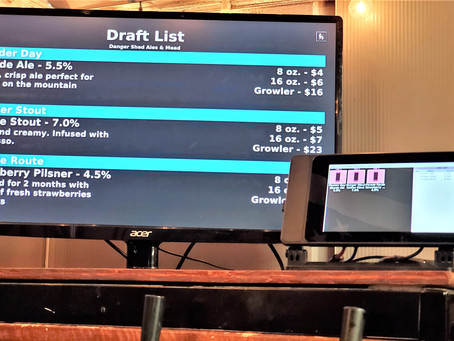 Tap List Screen Configuration