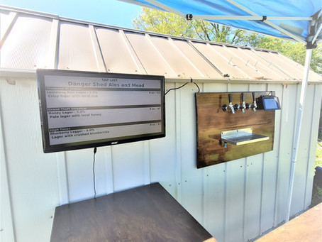 Build an Outdoor Draft Beer Bar