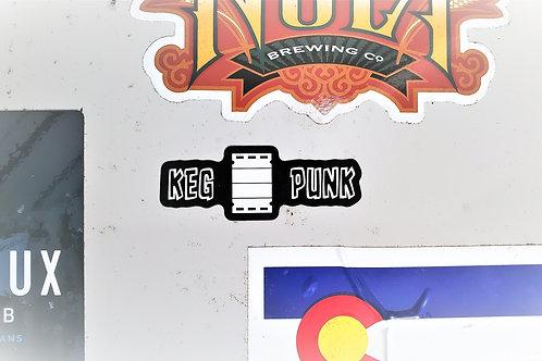 Keg Punk Sticker