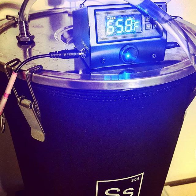 Ss Brewtech beer fermenter with temperature control