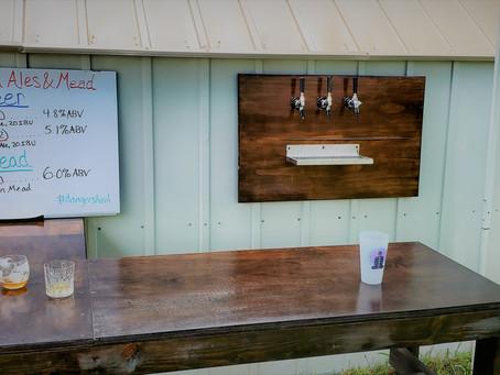 Build an Outdoor Draft Beer Bar