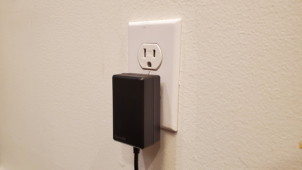 standard wall outlet