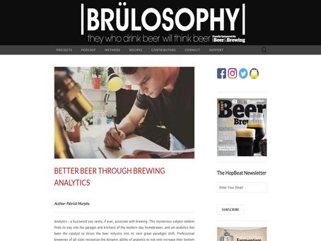 Brülosophy - Better Beer Through Brewing Analytics