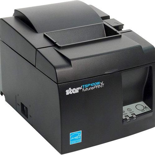 Star Micronics TSP143IIIBi Thermal Printer,Bluetooth, iOS, Android/Windows