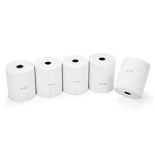 3.125 in. x 275 ft. Thermal Paper Rolls – Box of 50 BPA free