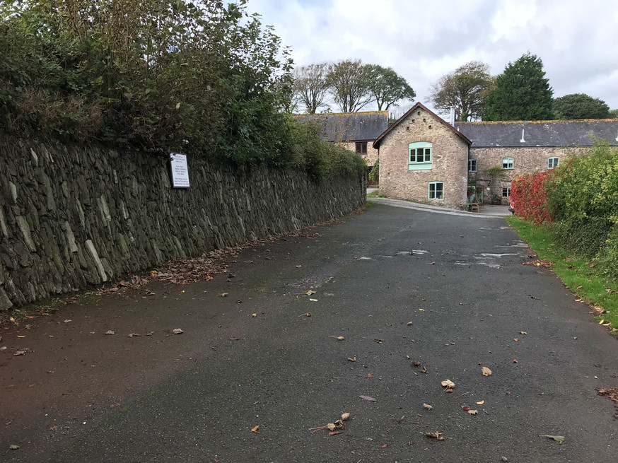 Driveway to Buckland Court