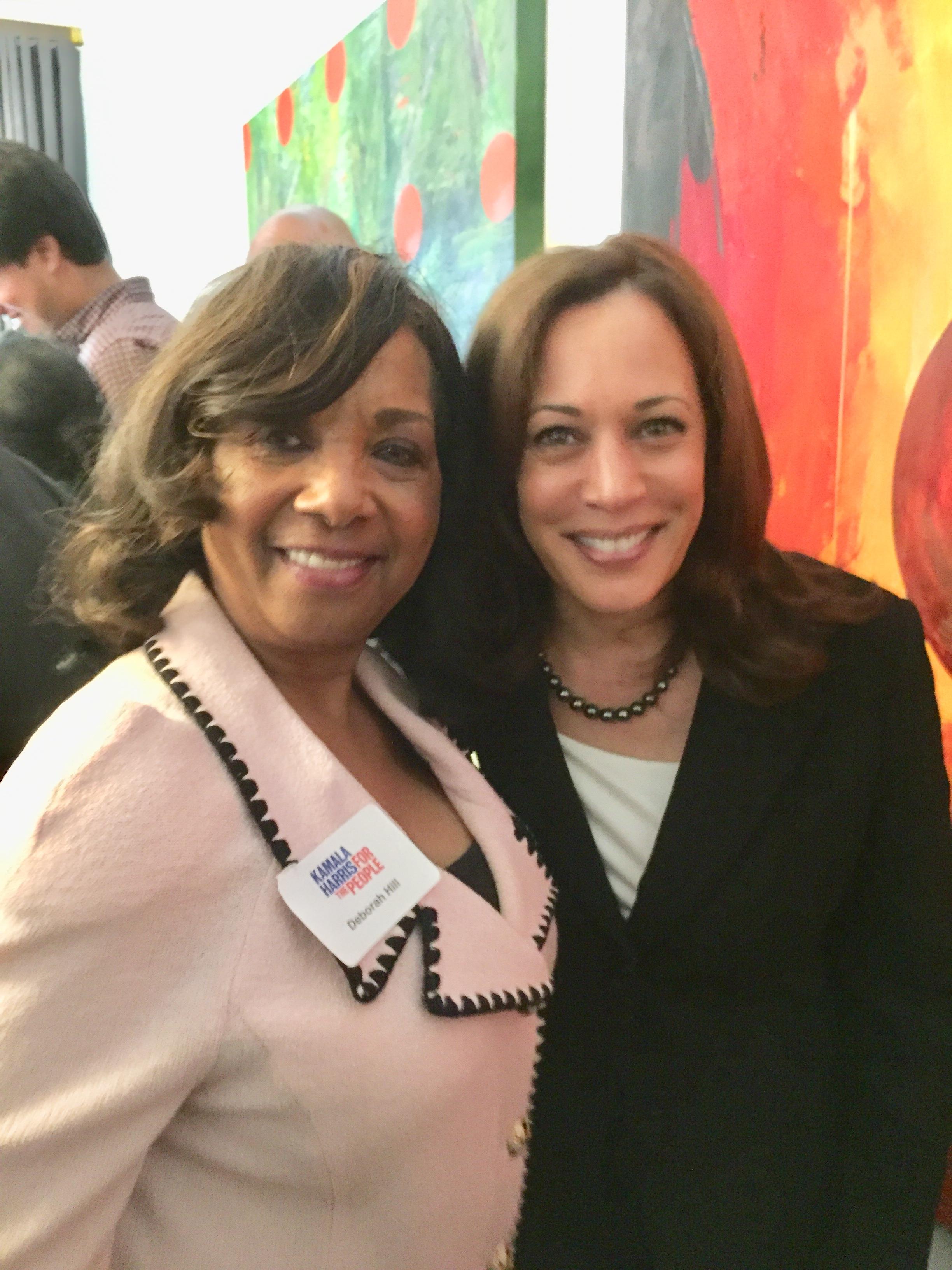 Newly elect VP K. Harris & D. Hill