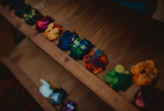 Owl Crayons