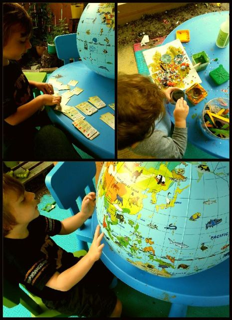Exploring the Continents