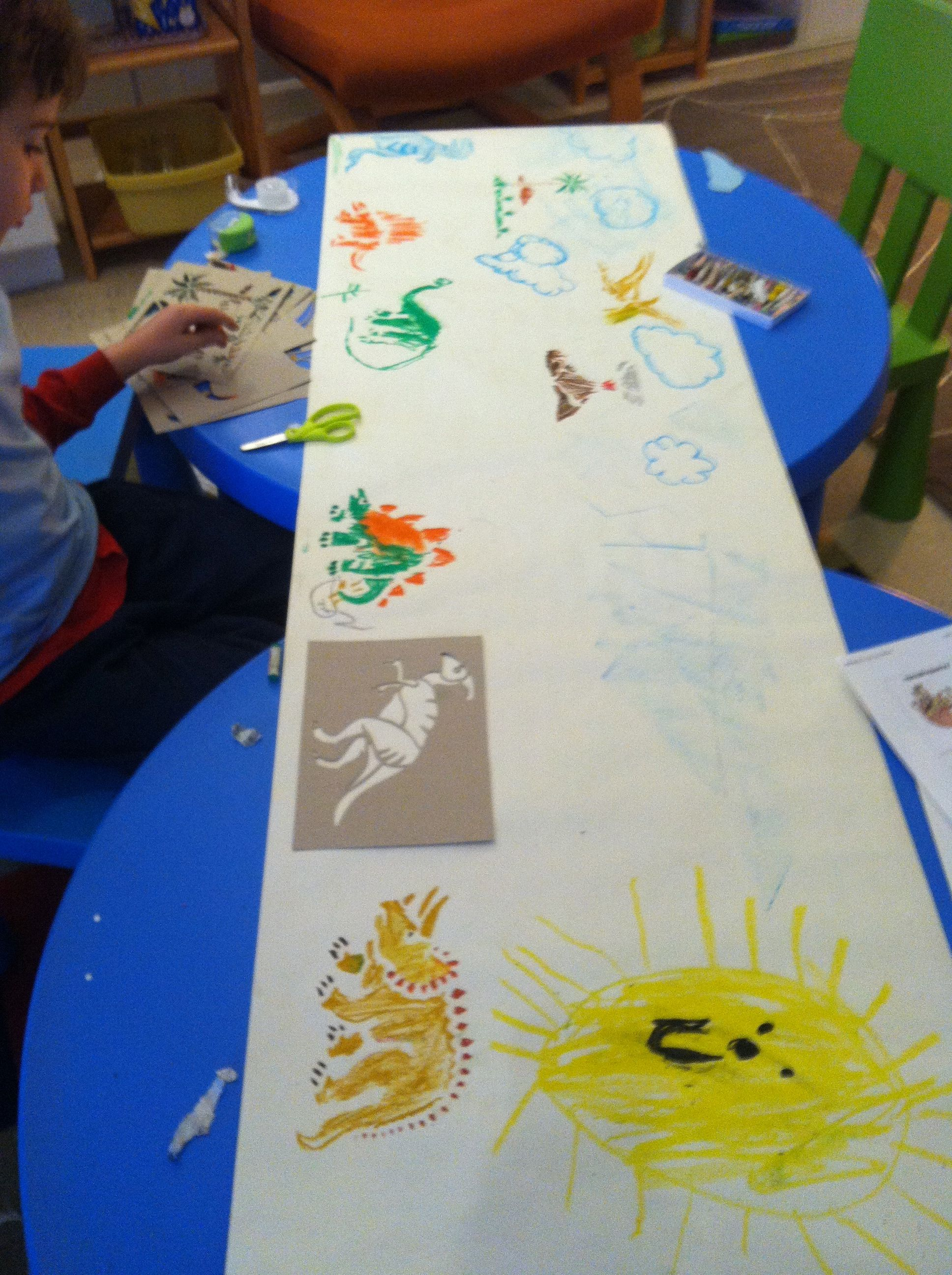Art and Dinosaur Exploration