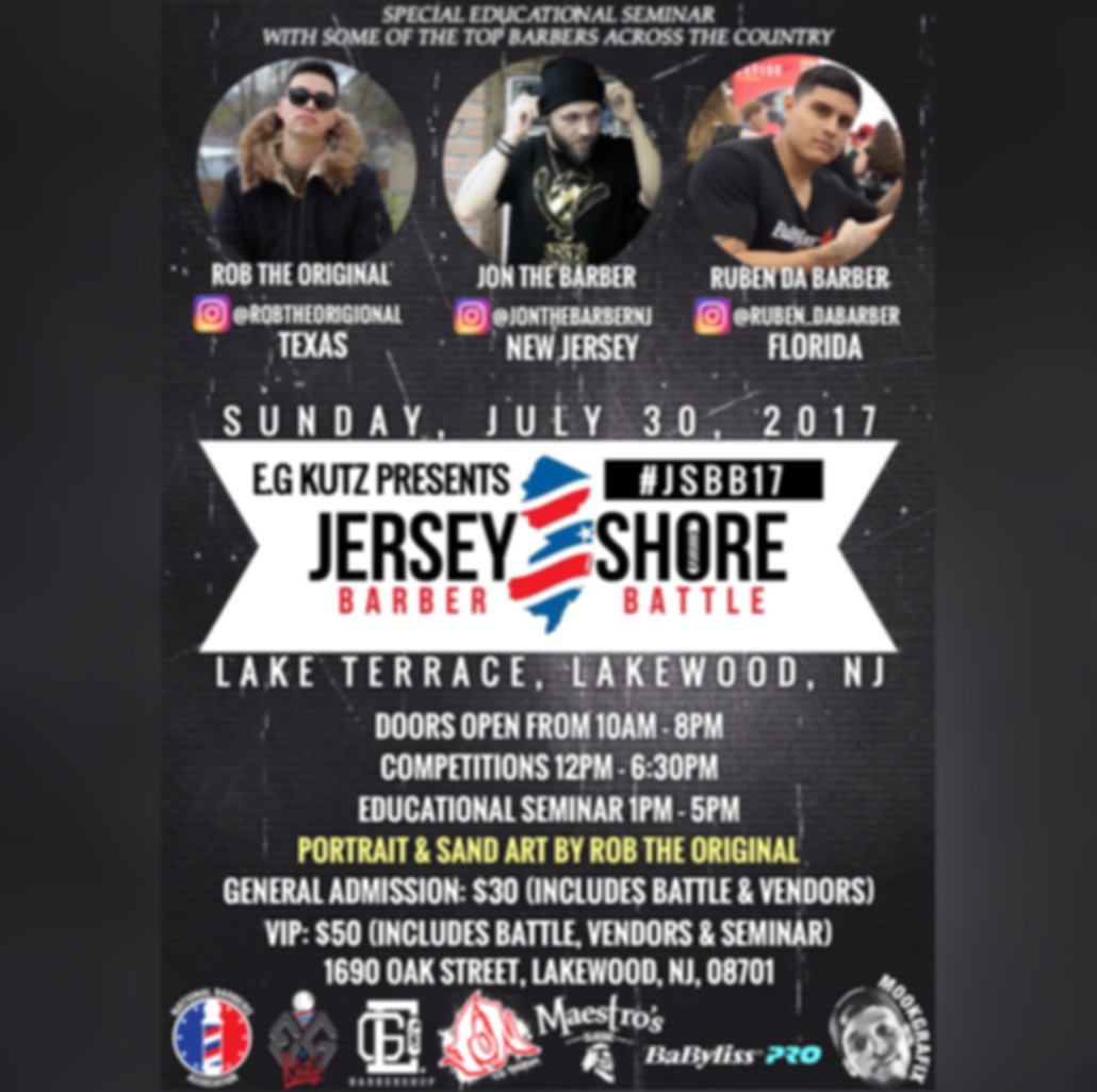 Jersey Shore Barber Battle 2017