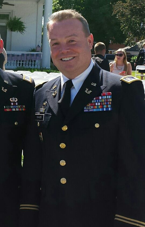 John Maher in Uniform