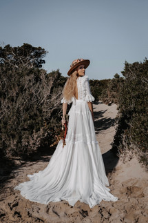 Boho bride Anne