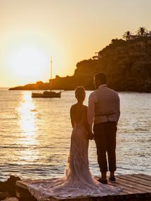 Kerris + Sam sunset moment