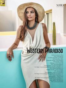 """SOHO FASHION MAGAZINE - """"Western Paradiso"""""""