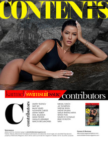 "ELLEMENTS MAGAZINE Swimsuit Issue - ""Ibiza poolside story"""