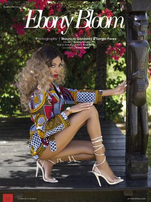 "SCORPIO JIN MAGAZINE ISSUE 41 - ""Ebony Bloom"""