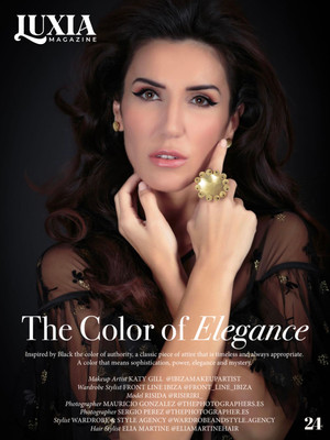 """LUXIA MAGAZINE ISSUE 61 - """"The Color of Elegance"""""""