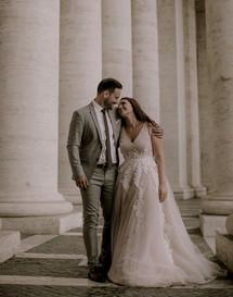 Laura + Marco - Rome Wedding