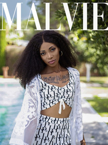 "MALVIE Magazine NOIR Special - ""Relax Oasis"""