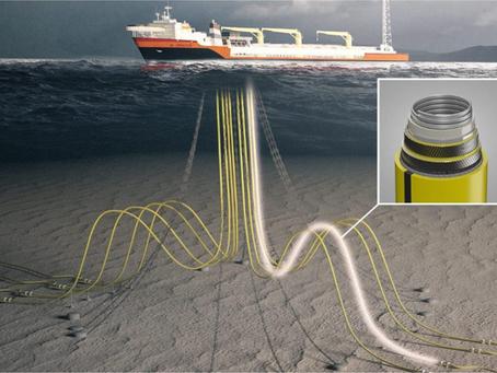 Dutos flexíveis: Uma grande aposta da engenharia na exploração e produção de petróleo e gás natural.