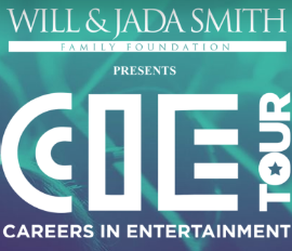 Thank You Will and Jada Smith Foundation for having us with you. www.cietour.org
