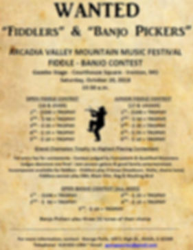 Fiddlers and Banjo Players wanted.JPG
